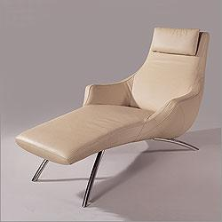 Seating - Global Furniture USA 9562 Series - Sydney Chaise - chaise lounge