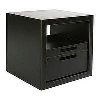 Storage Furniture - side table - side table storage bin