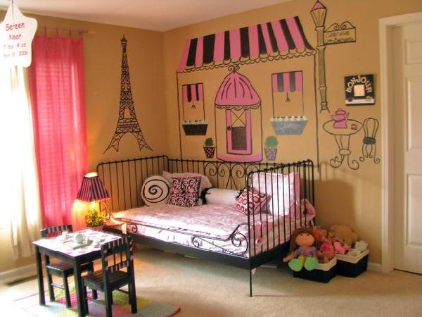 french themed girls 39 bedrooms decorating home garden
