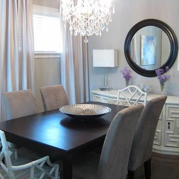 Gray Dining Room -