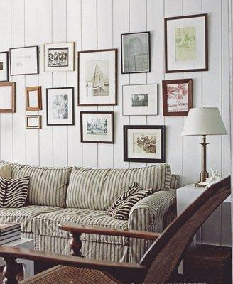 Living Room Sectionals on Living Rooms   Art Gallery  Striped Sofa  Cozy Sofa  Comfy Sofa  Beach