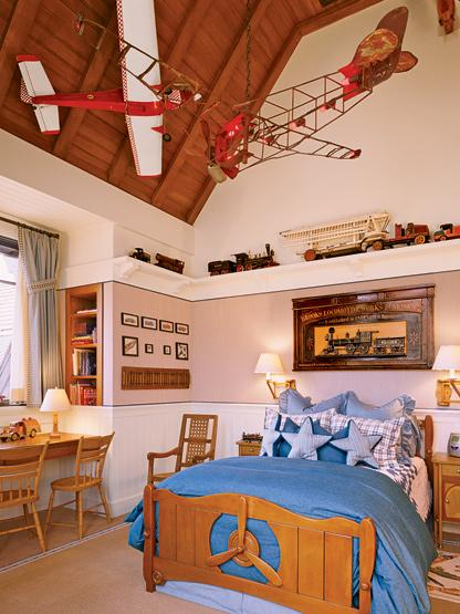 Airplane Mobiles Vintage Boy S Room