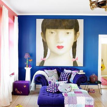 living rooms - purple sofa, purple sofas, purple velvet sofa, purple tufted sofa, purple ottoman, purple tufted ottoman, purple velvet ottoman,