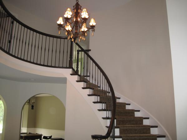 Foyer Stairs Quote : Benjamin moore manchester tan quotes