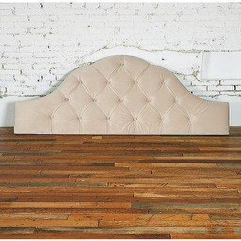 UrbanOutfitters.com > Velvet Tufted Headboard, Wheat