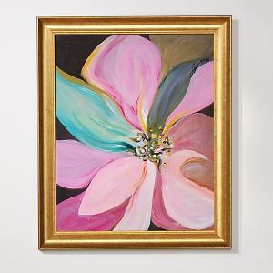 Art/Wall Decor - Lenne 16x20 Pink Flower Giclee Print - art