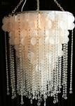 Lighting - MOGUL - chandelier, crystal, shell