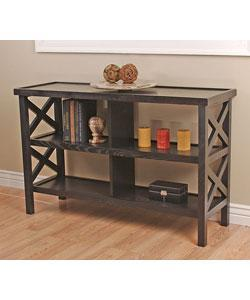 Tables - Contemporary X Console from Overstock.com - console table