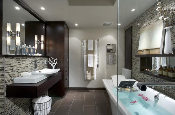 Candace Olson Bathrooms - Contemporary - bathroom - Benjamin Moore