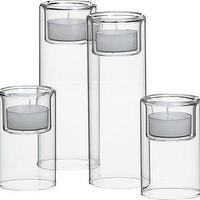 Decor/Accessories - Crate and Barrel - Piper Candleholders shopping in Crate and Barrel Candlelight - candle holders