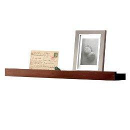 Decor/Accessories - Picture Ledge - Mahogany (23 - ledge