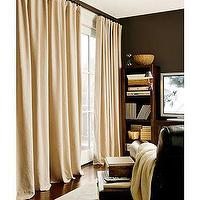 Window Treatments - Peyton Linen Cotton Drape | Pottery Barn - drapes