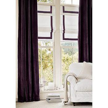 Window Treatments - Velvet Drape - Select Items | Pottery Barn - curtains