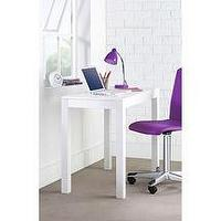 Storage Furniture - Walmart.com: Parsons Desk, Arctic White: College 09 - White parsons Desk