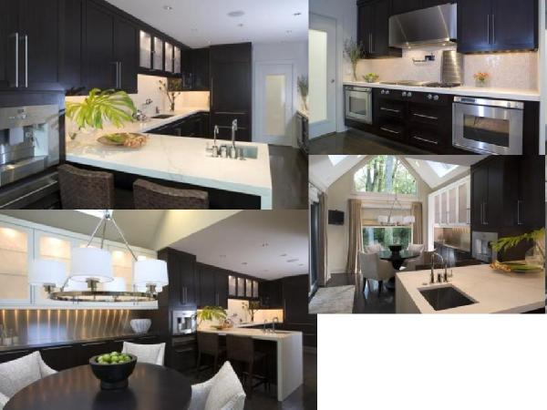 images of kitchens with dark cabinets