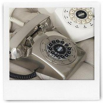 Decor/Accessories - glam old style phone - From Pink Wallpaper