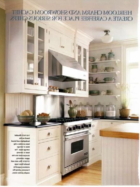 Beadboard cabinets cottage kitchen for Beadboard kitchen cabinets