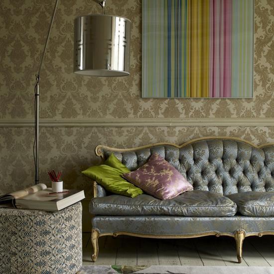 Baroque Sofa Eclectic Living Room Living Etc