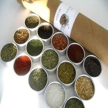 Decor/Accessories - large everyday spice kit by purposedesign on Etsy - spices, containers