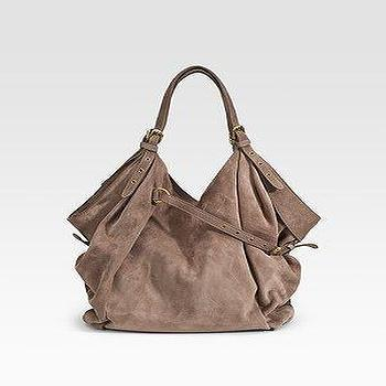 Miscellaneous - Kooba - Dale Suede Shoulder Bag - Saks.com - bag