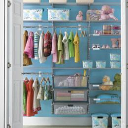 Miscellaneous - The Container Store > Platinum elfa Kid's Reach-In Closet - closet