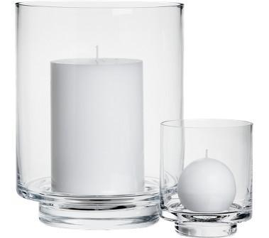 Decor/Accessories - Crate and Barrel - Taylor Hurricanes shopping in Crate and Barrel Candlelight - hurricane, candle holder