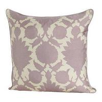 Pillows - Thomas Paul lilac 'Flock' satin 18'' pillow at Bluefly - thomas paul, pillow, flock