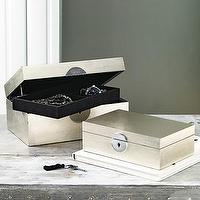 Decor/Accessories - medallion jewelry boxes | west elm - jewelry box
