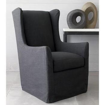Seating - Crate and Barrel - Whitman Wingback Chair shopping in Crate and Barrel New Furniture - wingback, chair