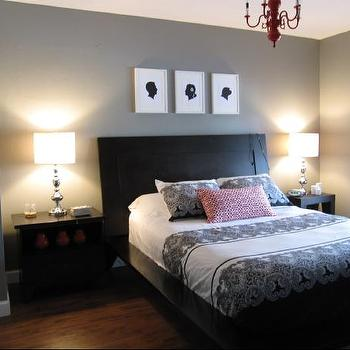 gray paint colors contemporary bedroom ralph lauren boulder gray