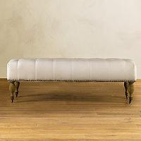 Seating - Tufted Bench - Upholstered Chairs, Ottomans & Benches - Furniture - bench