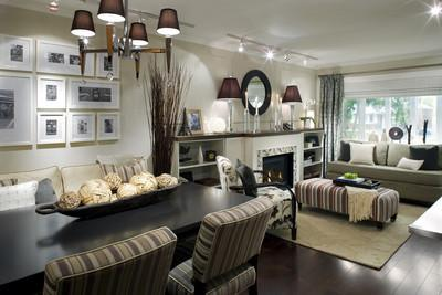 Candace Olson Living Room - Contemporary - living room - Candice Olson