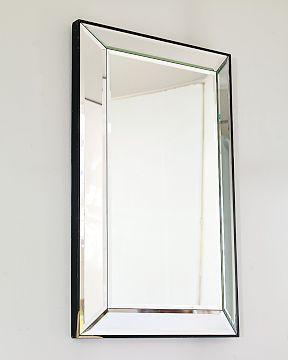 Williams Sonoma Home Five Panel Beveled Mirror