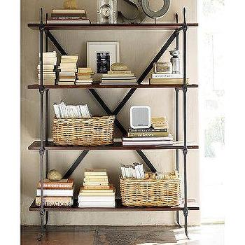 Storage Furniture - Benchwright Bookcase | Pottery Barn - bookcase