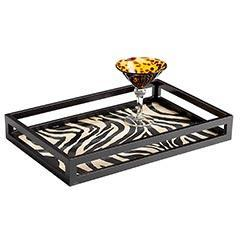 Decor/Accessories - Pier 1 Imports - Zebra Tray - Zebra Tray