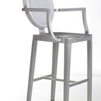 Seating - Advanced Interior Designs - Louis Counter Stool - Chrome, counter stool, louis