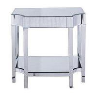 Tables - Cinema Side Table : Target - mirror, side table, nightstand, deco