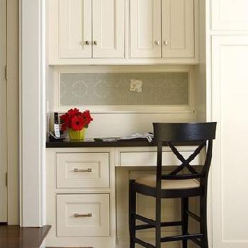 Built In Desk, Traditional, kitchen