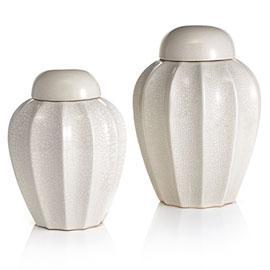 Decor/Accessories - Elko Canisters - Cream 10 - canisters