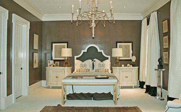 Taupe Walls French Bedroom