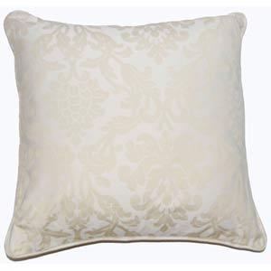 Pillows - Vienna Ecru 22 Inch Decorative Pillow In Decorative Pillows From Bellacor - pillow