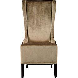 Deco Bacall Velvet Side Chair, Overstock.com