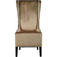 Seating - Deco Bacall Velvet Side Chair | Overstock.com - Velvet Side chair