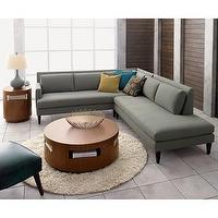 Seating - Crate and Barrel - Sidecar Sectional shopping in Crate and Barrel Sofas - sofa, sectional