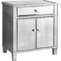 Pier 1 Mirrored Accent Table