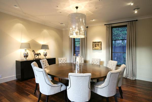 Chairs Nailhead Trim Via Desire To Inspire Chic Elegant Dining Room