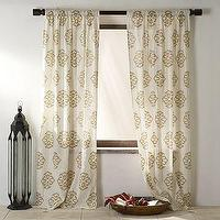 Window Treatments - Medallion Window Panel | west elm - drapes