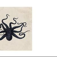 Decor/Accessories - Natural Curiosities Store - octopus print