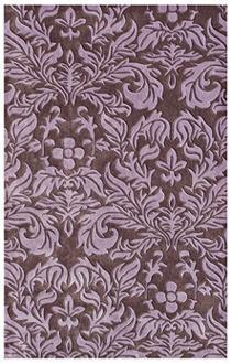 Rugs - Calypso Handmade Rug | LampsPlus.com - purple rug