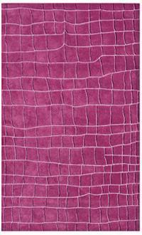 Darius 100 Wool Area Rug In Fuchsia Design By Nuloom I